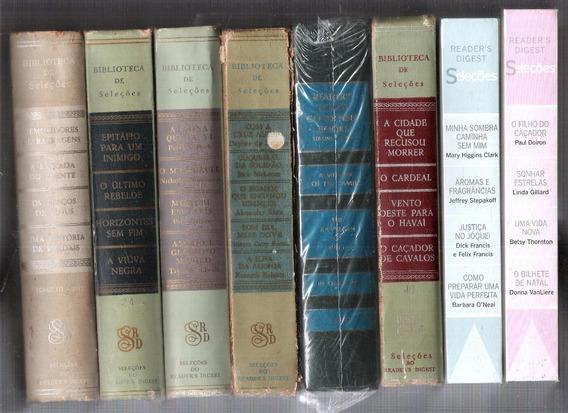 Coleção Seleções De Livros Readers Digest Romance 8 Volumes