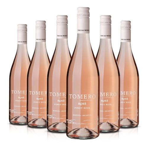 Imagen 1 de 10 de Vino Tomero Rosé Pinot Noir Caja X 6 X 750ml. - Vistalba
