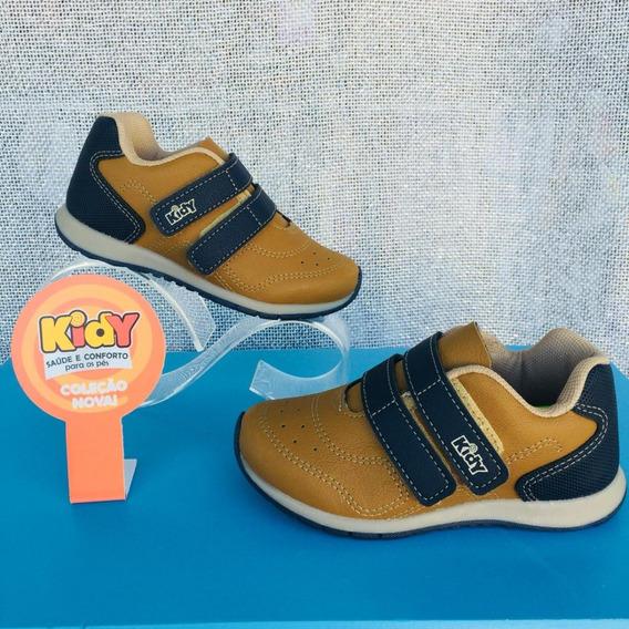 Tênis Infantil Kidy Com Velcro