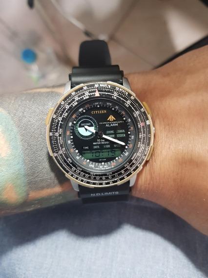 Relógio Citizen Wingman 8945 Serie Ouro