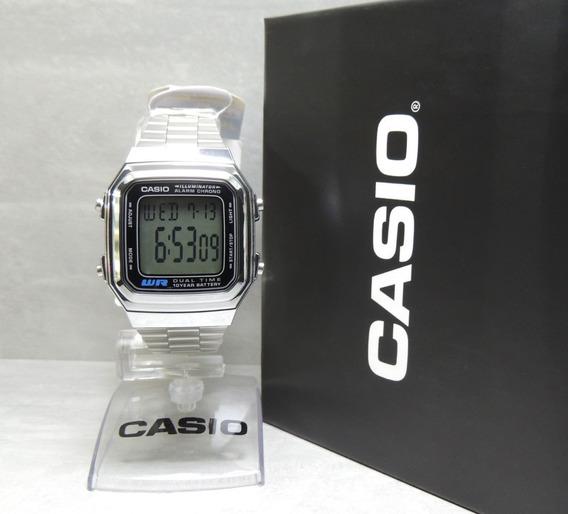 Relógio Casio Vintage Unissex A178wa-1adf - Nfe Envios Full