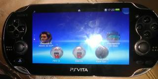 Consola Sony Psvita Mod Pch-1001 Incluye 5 Juegos Y Estuche
