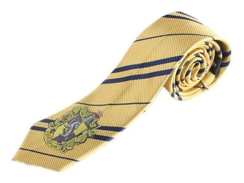 Corbata Hufflepuff Hogwarts De Harry Potter Bordado