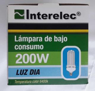 Lámpara Bajo Consumo 200w E40 Marca Interelec