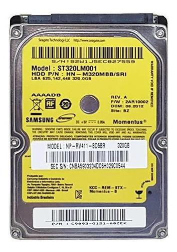 Disco Rígido Interno (hd) 2.5 Samsung St320lm001 500 Gb
