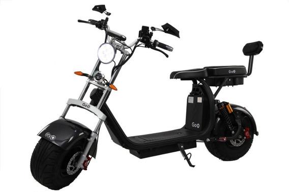 Patinete Scooter Elétrica Goo Elétricos X10 2000w 60v 20ah