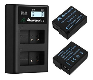 Powerextra 2 Pack Replacement Panasonic Dmwblc12 Battery Y S