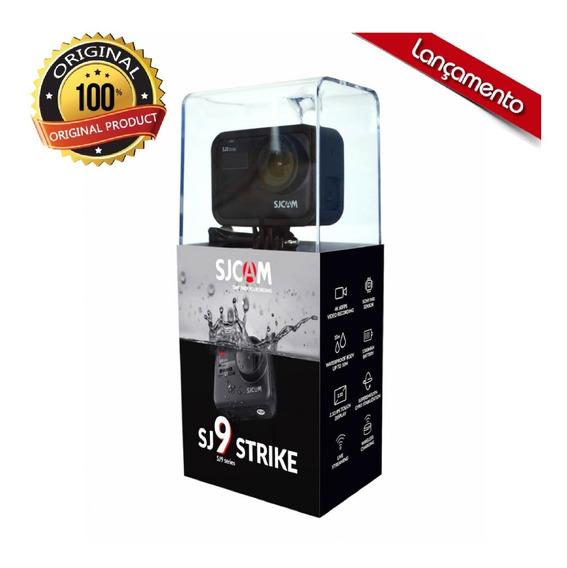 Kit Sjcam Sj9 Strike Original Wifi 4k/60fps Modelo 2020