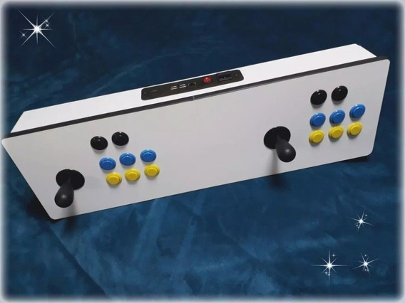 Fliperama De Mesa Arcade Raspberry Pi3 Painel Frete Gratis