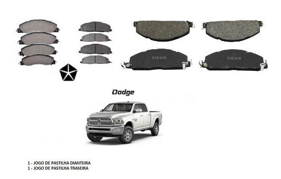 Pastilha Freio Dian+tras Dodge Ram 2500 5.9/6.7 2009 2012 16