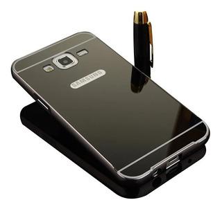 Case Bumper Alumínio Espelhada Luxo Galaxy S5 G900 I9600