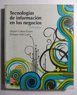 Tecnologías De Información De Los Negocios , Cohen Karen 5a