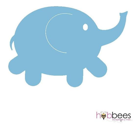 Scrapbook Suaje Cortar Papel Troquel Elefante Baby Shower