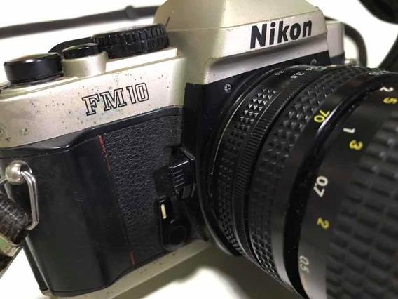 Cámara Nikon Fm 10 Japan