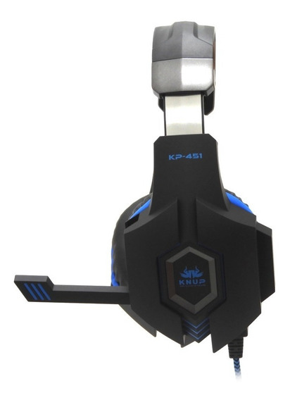 Fone Ouvido Headset Gamer Plug P2 Microfone Pc Ps3 Ps4 K451