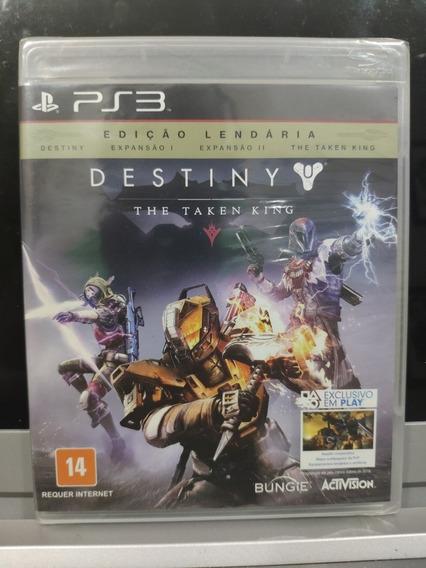 Jogo Destiny: The Taken King, Playstation 3, Novo, Lacrado