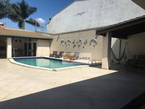 Imagem 1 de 17 de Casa Com 3 Dormitórios À Venda, 320 M² Por R$ 850.000,00 - Jardim São Judas Tadeu (nova Veneza) - Sumaré/sp - Ca3182