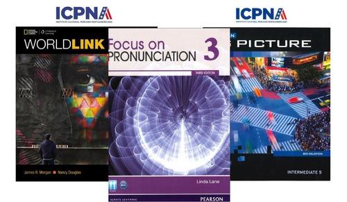 Imagen 1 de 5 de Libros Icpna Básico, Intermedio Y Avanzado (di Gi Tal)