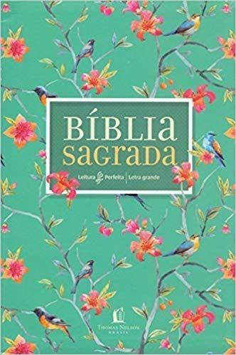 Bíblia Nvi Leitura Perfeita Letra Grande - Flores