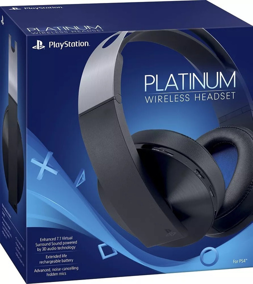 Head Set Platinum Ps4