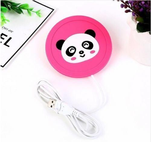 Aquecedor Usb De Copos, Xícaras E Canecas Panda Rosa