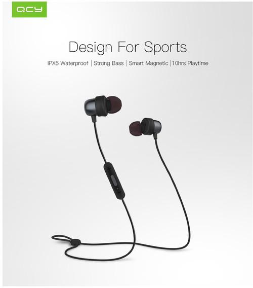 Fone Ouvido Novo Qcy Qy20 Sport Bluetooth 4.2 Original R
