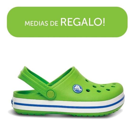 Crocs Originales Crocband Verdes Hombre Mujer