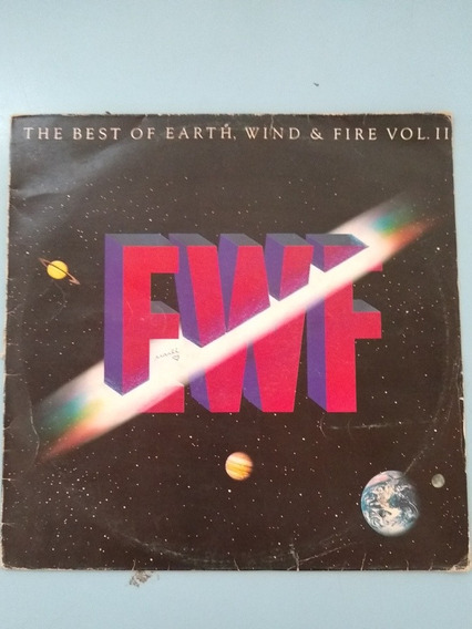 Lp The Best Earth Wind & Fire 2 1988