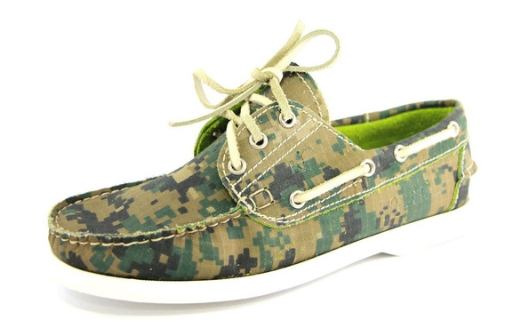 Zapatos Nauticos Mocasines Peskdores Camo Pc00031