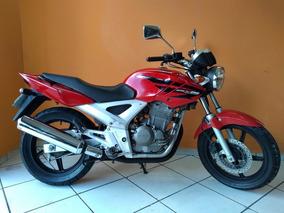 Honda Twister 250 2008 Vermelha