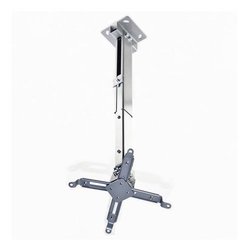 Soporte Proyector Techo Y Pared 3en1 Hasta 63cm 20kg 1° Htec