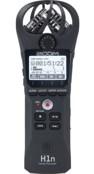 Gravador Digital De Áudio Zoom H1n Handy Recorder