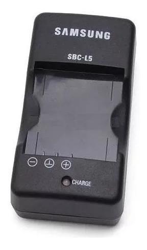 Carregador Samsung Sbc-l5 Para Baterias Slb-0837 E Slb-0737