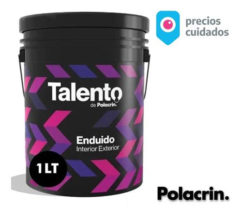 Imagen 1 de 10 de Enduido Plastico Talento Interior Exterior 1lts Premium