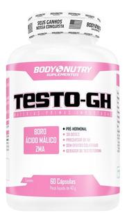 Testo Gh Feminy - 60 Cápsulas - Body Nutry
