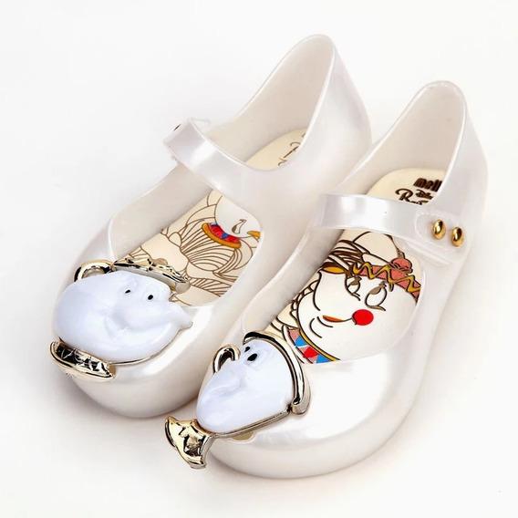 Zapato Niña Mini Melissa Bella Y Bestia 13 Al 18 Cm