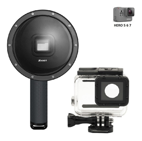 Dome Gopro Hero 5, 6 E 7 Black Shoot 6 Polegadas