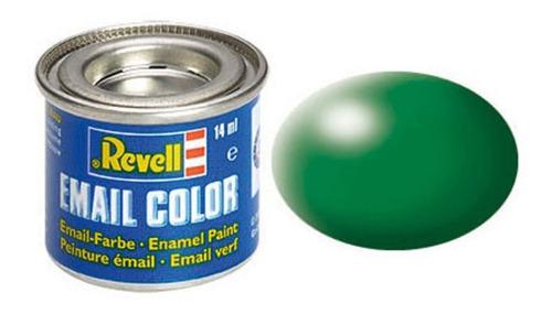 Tinta Enamel Leaf Green Ral 6001 Fosco 14ml Revell 32364
