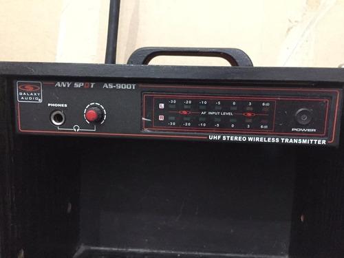 Imagen 1 de 4 de Sistema In-ear Inalámbrico Galaxy Audio Any Spot As-900t
