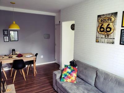 Apartamento Em Cidade Intercap, Taboão Da Serra/sp De 52m² 2 Quartos À Venda Por R$ 210.000,00 - Ap244966