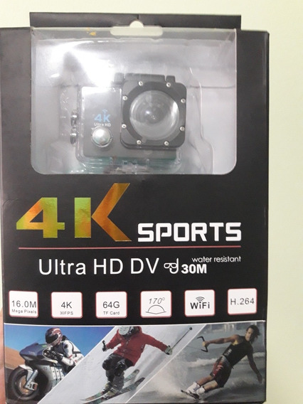 Camera Action Sport 4k Wifi Ultra Hd