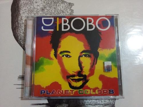 Planet Colors - Dj Bobo - Toco 2001 - Cd - U