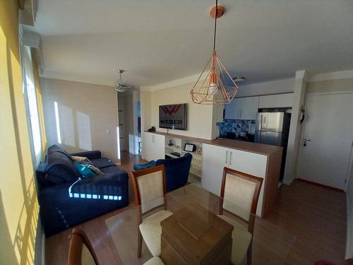 Imagem 1 de 15 de Apartamento No Condomínio Vila Flora Com 3 Dormitórios - 1820