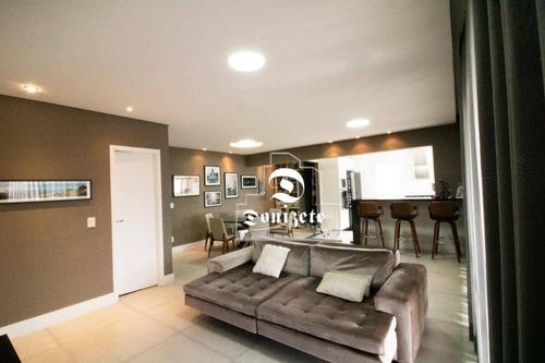 Apartamento Com 3 Dormitórios À Venda, 150 M² Por R$ 1.625.000,00 - Jardim Bela Vista - Santo André/sp - Ap14089