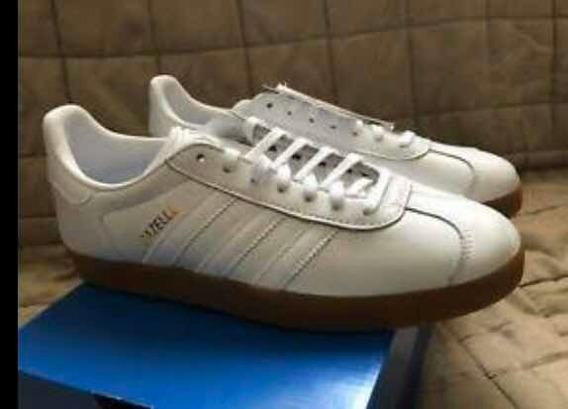 adidas Gazelle Original Blanco En Piel