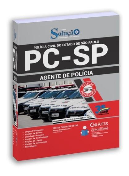 Apostila Policia Civil Pc Sp 2019 Agente De Polícia