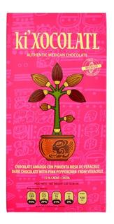 Ki Xocolatl Rosa 72% Cacao Pimienta Rosa, Natural, Orgánico