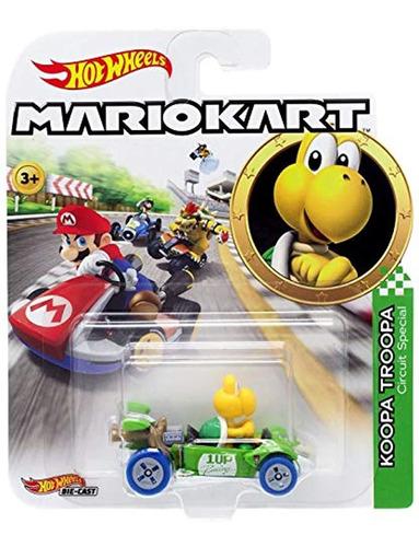 Figura De Koopa Troopa Mariokart Escala 1:64 Color Amarillo