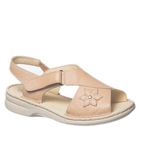 Sandália Feminina Em Couro Porcelana 293m Doctor Shoes