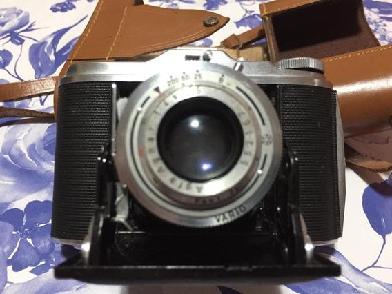 Camera Fotográfica Antiga Alemã Agfa